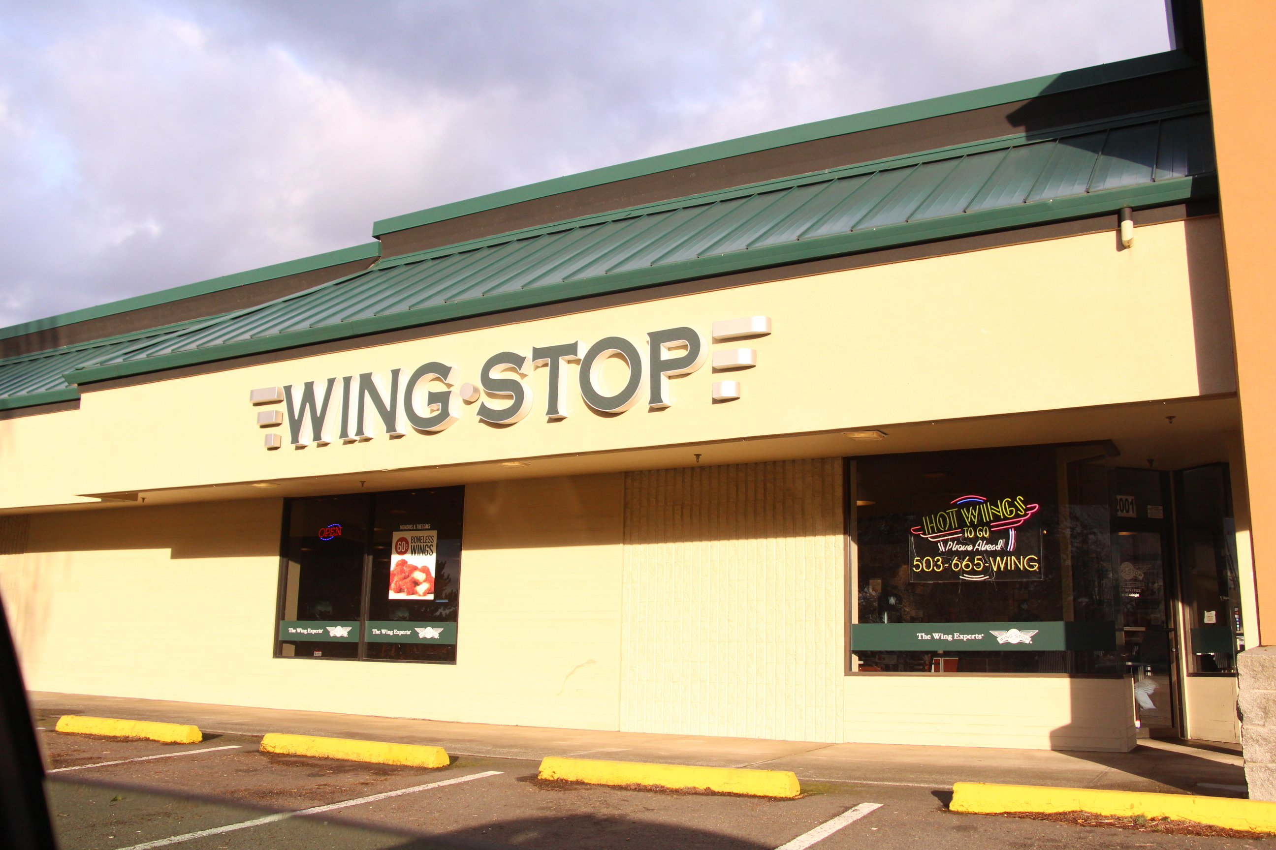 Wingstop has a variety of chicken and wings to choose from.  It's wonderful food will satisfy many.