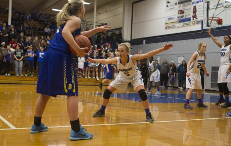 Rivalry Girls Basketball Game in Favor of Barlow