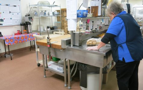Behind the Scenes: Lunch ladies work hard to accomplish their daily tasks