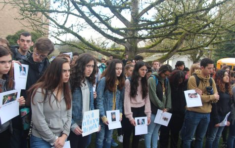 Students stage walkout in support of firmer gun laws