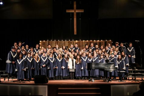 Concert Choir Places First at the Mt. Hood League Choir Competition