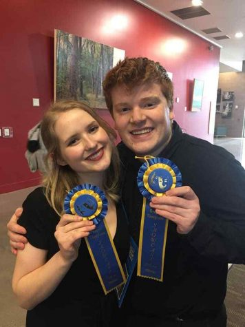 Theater Wins 1st Place at State Competition