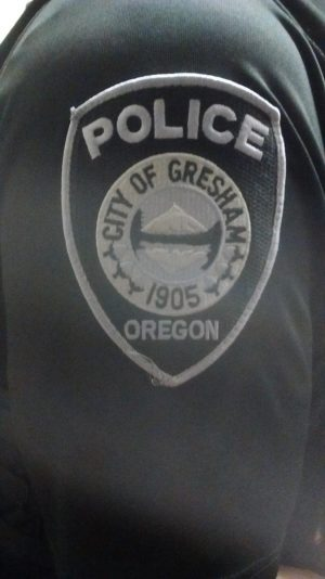The emblem of the GHS school resource officer