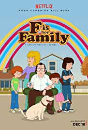 F is for Family poster.