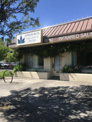 Epidavros Yoga Center and Day Spa, located at 223 Powell Boulevard.